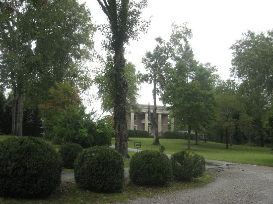 Chickamauga, Gürcistan: View of mansion from road