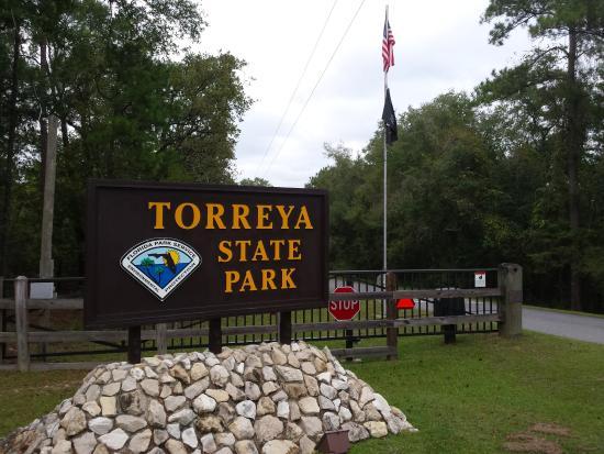 Bristol, FL: Tarreya entrance