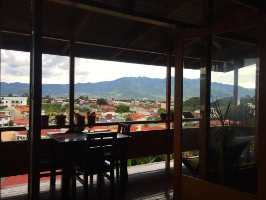 Beautiful afternoon view at Hostel Casa Areka