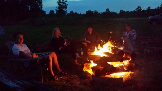 Sequel Inn Creemore: Our fire pit