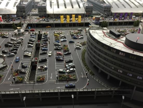 Miniatur-Wunderland in Hamburg / Airport Parking Area
