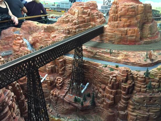 Miniatur Wunderland: Miniatur-Wunderland in Hamburg / USA
