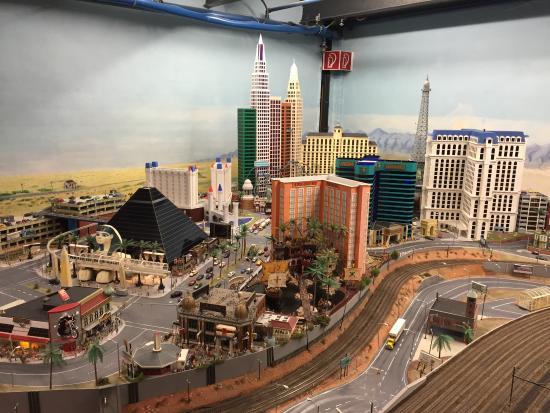 Miniatur Wunderland: Miniatur-Wunderland in Hamburg / Las Vegas