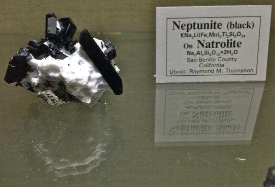 MBMG Mineral Museum : Neptunite