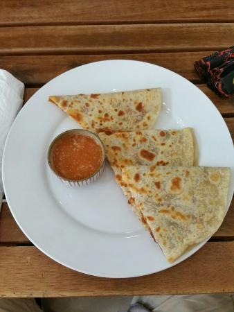 Alma Cafe : Chorizo Quesadillas