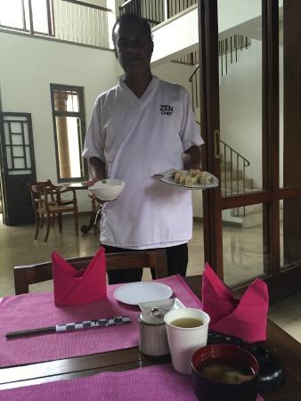 Zylan Luxury Villa: Chef Manjula from Zen