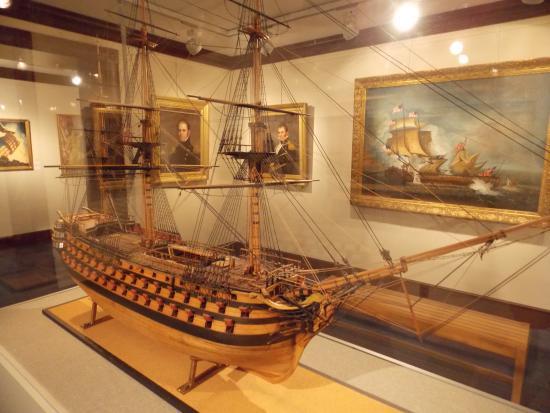 Αννάπολις, Μέριλαντ: USN Museum -ship model