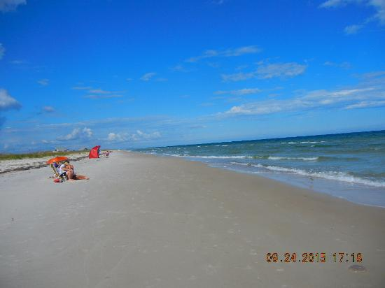 Saint George Island State Park: great beach and sand