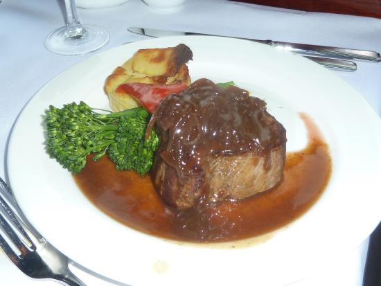 The Colonial Tramcar Restaurant: steak
