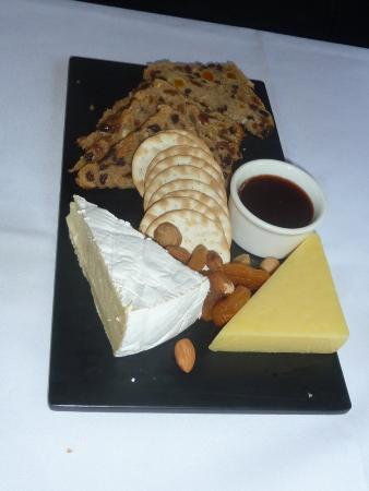The Colonial Tramcar Restaurant: cheese board