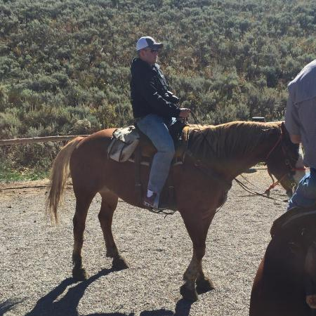 Spring Creek Riding Stables: Brian & Scar