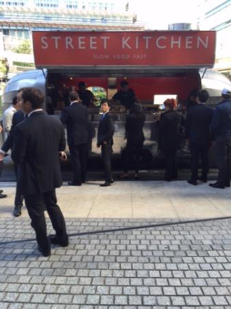 Street Kitchen: Men in Black