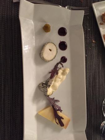 Une partie du menu surprise foto di le verre y table - Restaurant viroflay le verre y table ...