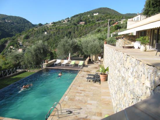 Miramare Apartments&Suites: U góry taras, w dole basen