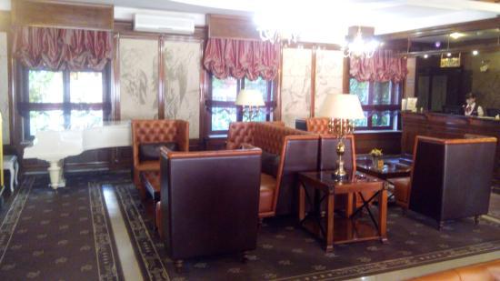 Kebur Palace Hotel: Фойе гостиницы