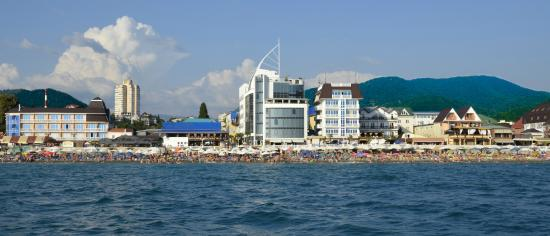 Laza Hall Hotel: Laza Hall море