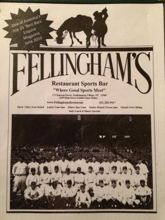 Fellingham's Restaurant Sports Bar: Fellingham's