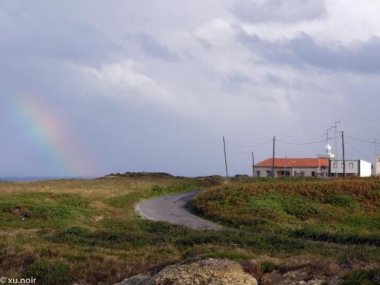 Faro de Cabo Vidio: Camino al Faro Vidio