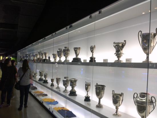 Camp Nou Ever Growing Trophy Cabinet