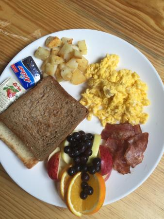 Namgyal New York Cafe Yorks Combo Breakfast Whole Wheat Bread Fresh