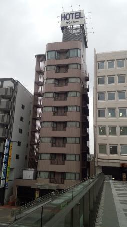 Hotel Sanko Takasaki: ぺデストリアンから