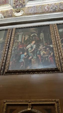 Palazzo Vecchio: Il laboratorio dell'Alchimista, studiolo di Francesco I