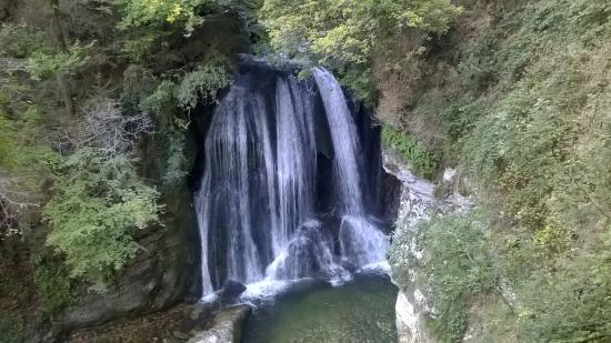Sassenage, Frankreich: chemin d'accès à la grotte