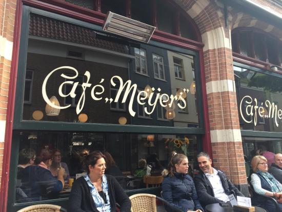 Cafe Meijers: Buitengebied