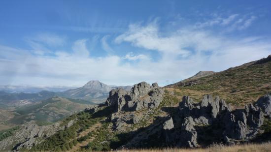 Cervera de Pisuerga, Spanyol: grandes vistas