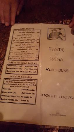 A Taste of India & International Restaurant Bar: Rice and Sundries