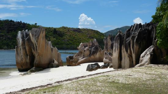 Остров Праслен, Сейшельские острова: la plage