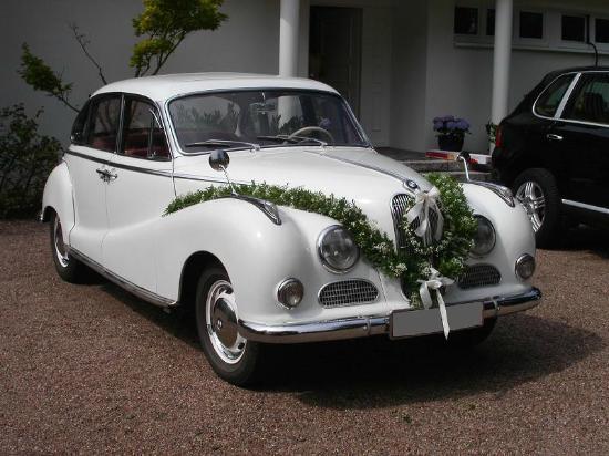 Rasch Limousinenservice: 1955 BMW 502