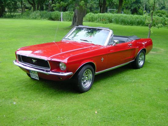 Rasch Limousinenservice: 1967 Ford Mustang Cabriolet