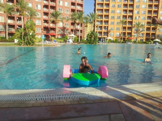 Porto Marina Golf Resort : Kids Activities in the Pool