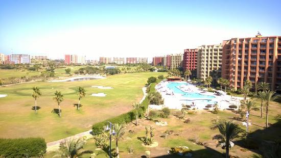 Porto Marina Golf Resort : Golf Area View