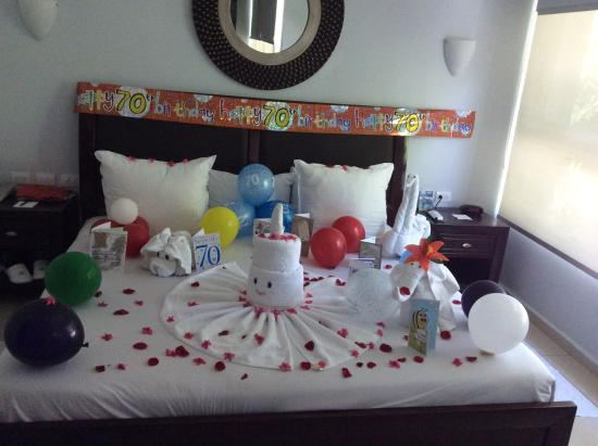 Luxury Bahia Principe Sian Kaan Birthday Decorations In The Room