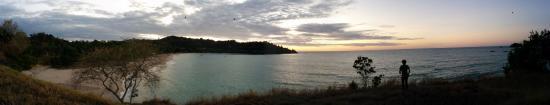 Le Belvedere: Blick auf das Meer vom neben dem Hotel gelegenen Hügel