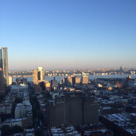 View from our room on 33rd floor