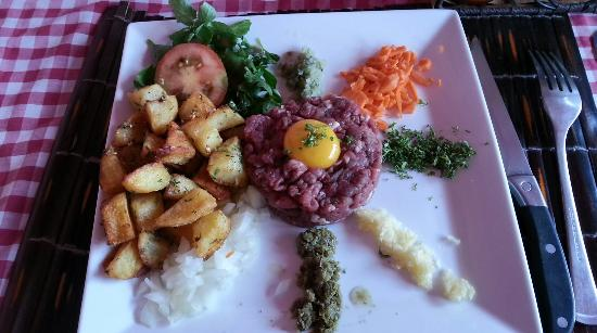 Le Bouchon : Steak tartare