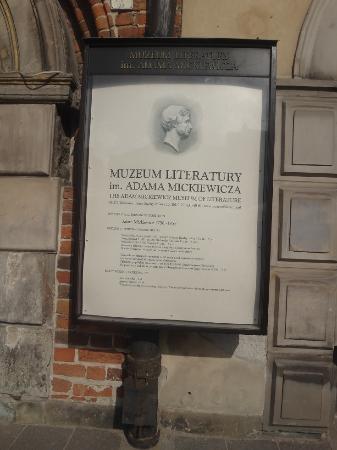 Adam Mickiewicz Museum of Literature (Muzeum Literatury Adama Mickiewicza)