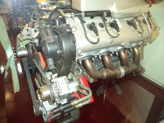 Aircraft engines - Picture of Deutsches Museum, Munich