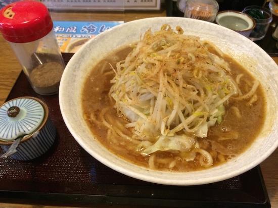Maruki Tsukemen : 煮干豚らー麺(普通もり)