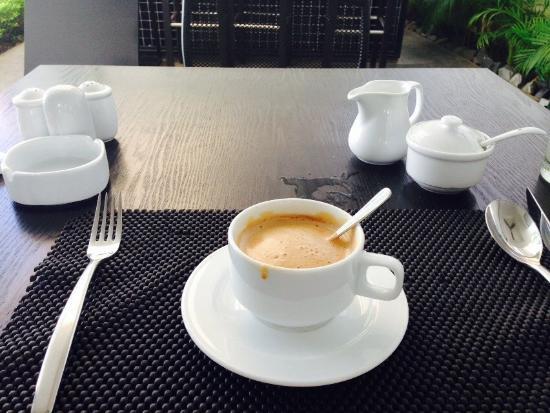H Hotel Cambodia: nice coffee