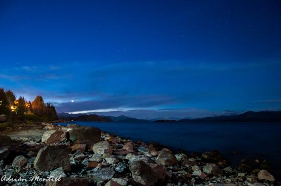 Apart Costa Azul: vista desde la playa del hotel