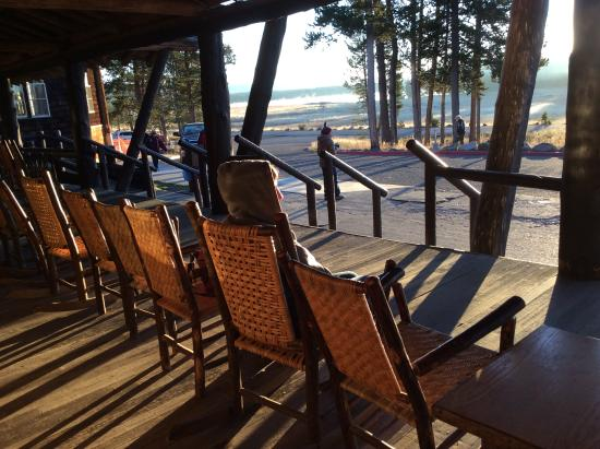 Lake Lodge Cabins: Loved These Rocking Chairs