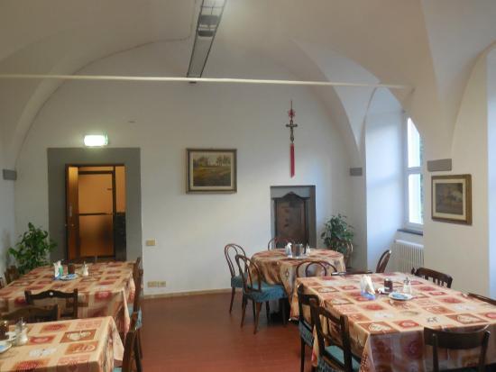 Sanctuary Firenze: Breakfast room