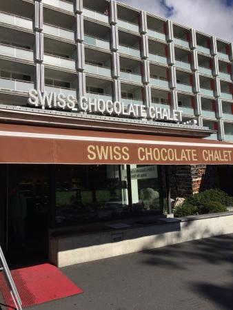 Swiss Chocolate Chalet