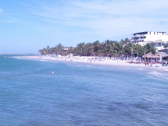 El Yaque Paradise Hotel: playa el yaque