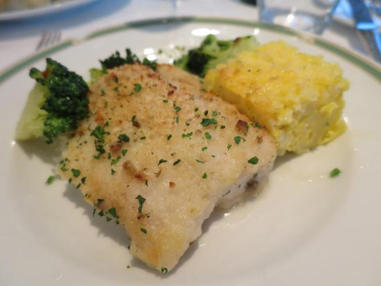 Grand Hotel Vesuvio: Fish was so-so