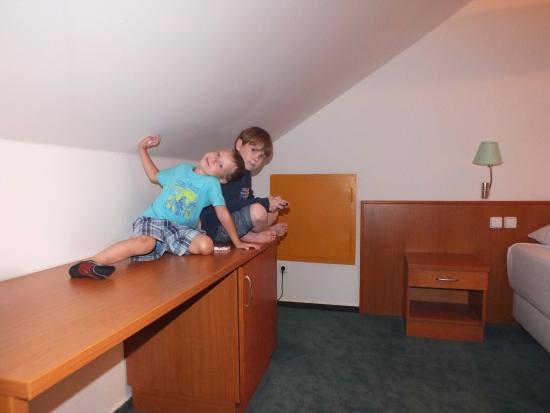 Hotel Dvorak Ceske Budejovice: Второй этаж